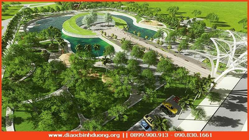 Công viên khu đô thị Phúc Đạt