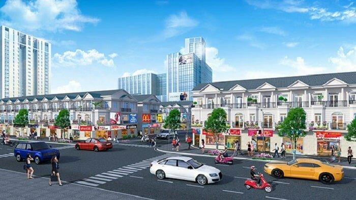 nhà phố thương mại golden center city 2