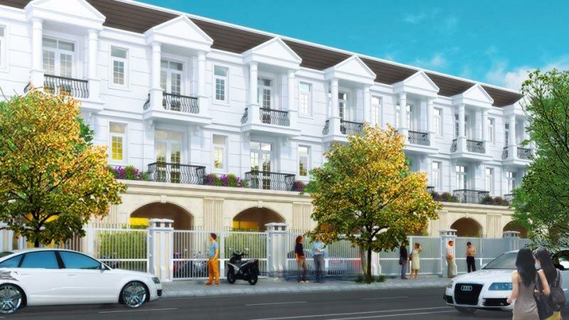 Thiết kế khu nhà phố Phúc Đạt Thủ dầu Một