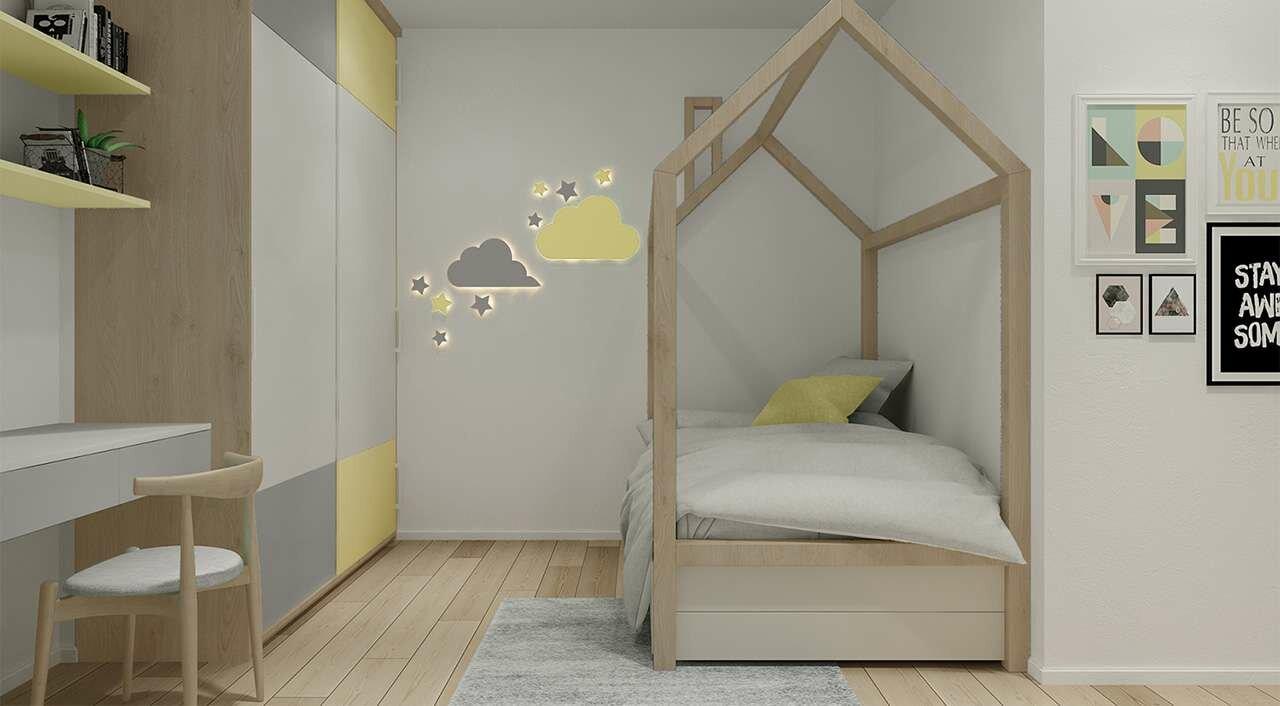 Căn hộ 2 phòng ngủ Charm City