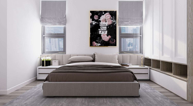 Căn hộ 3 phòng ngủ Charm City