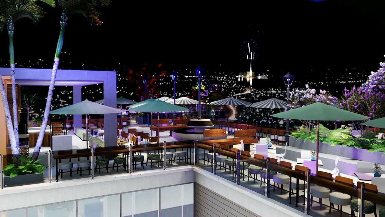 Skybar dự án Charm City Bình Dương