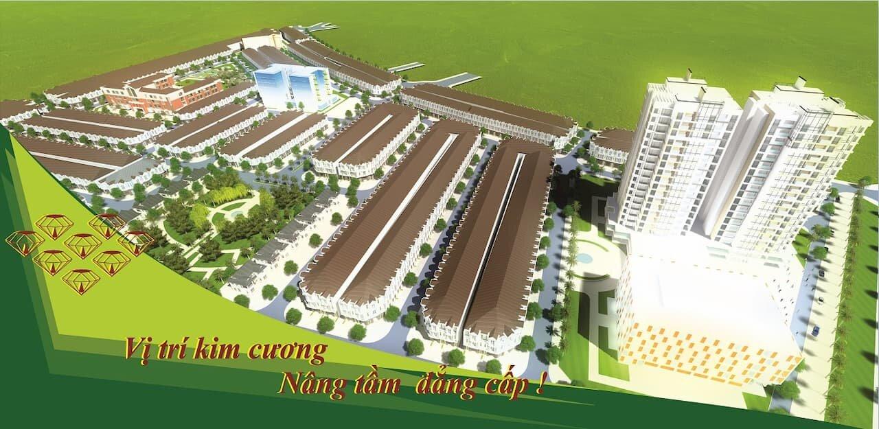 Tổng thể dự án Khu đô thị Phúc Đạt