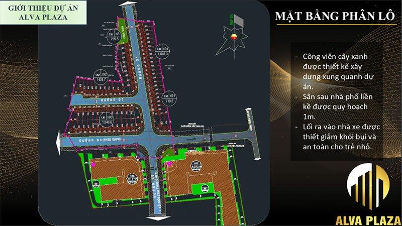 Alva Plaza - Mặt bằng dự án