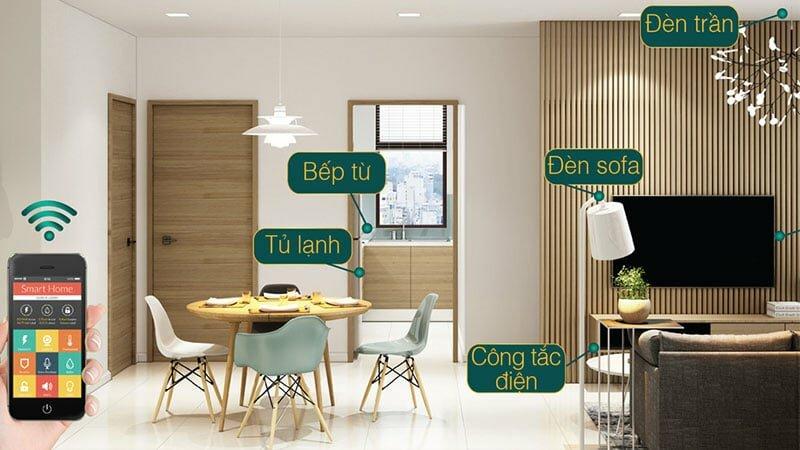 Mẫu căn hộ cao cấp Alva Plaza Thuận An