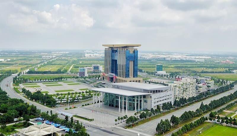 Trung tâm thương mại thế giới nằm cạnh Trung tâm Hành chính tỉnh Bình Dương