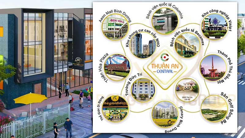 Dự án đất nền Thuận An Central