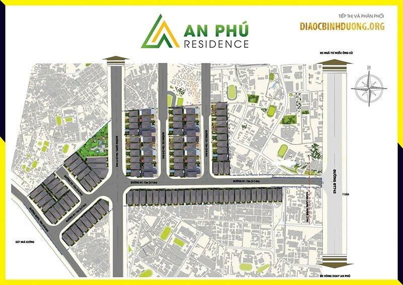 Mặt bằng dự án An Phú Residence