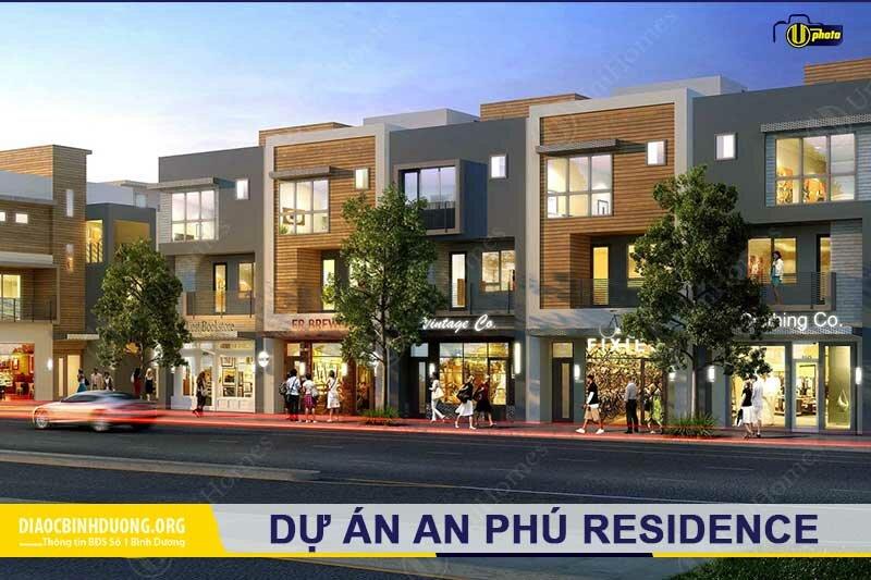 Thiết kế nhà phố An Phú Residence