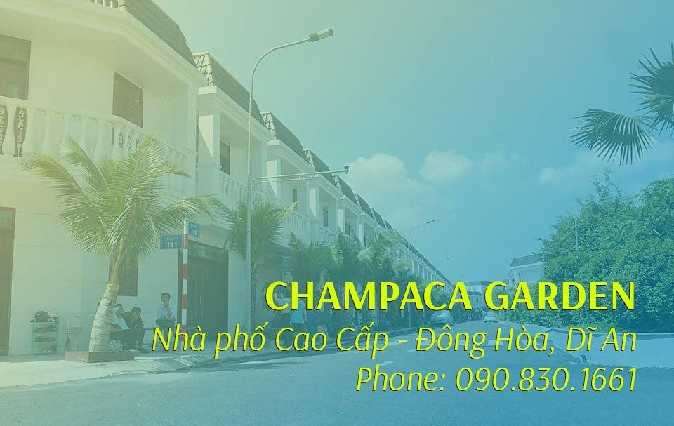 Giới thiệu dự án Champaca Garden Dĩ An
