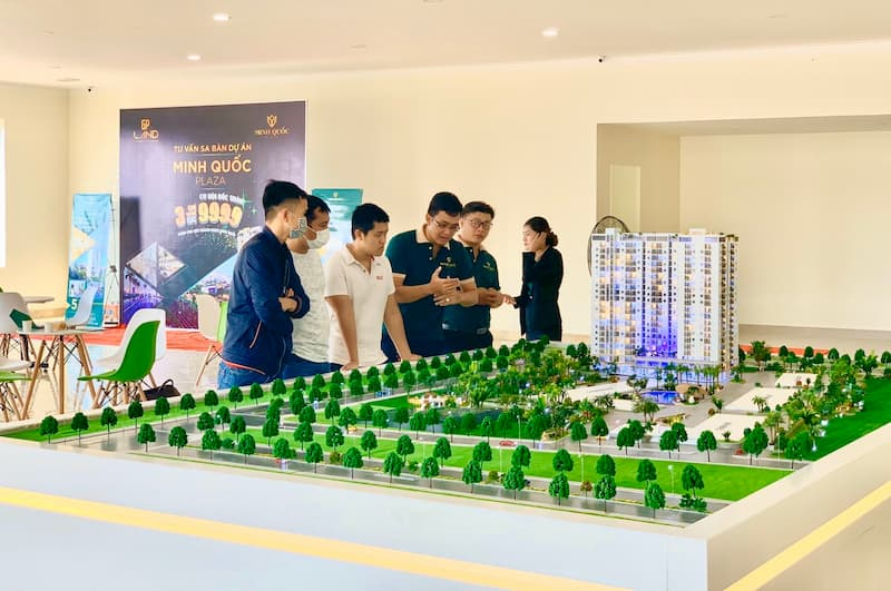 Hình ảnh thực tế buổi tư vấn Minh Quốc Plaza 3