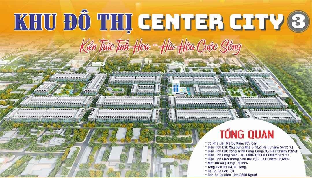 Khu đô thị Center City 3 Bàu Bàng