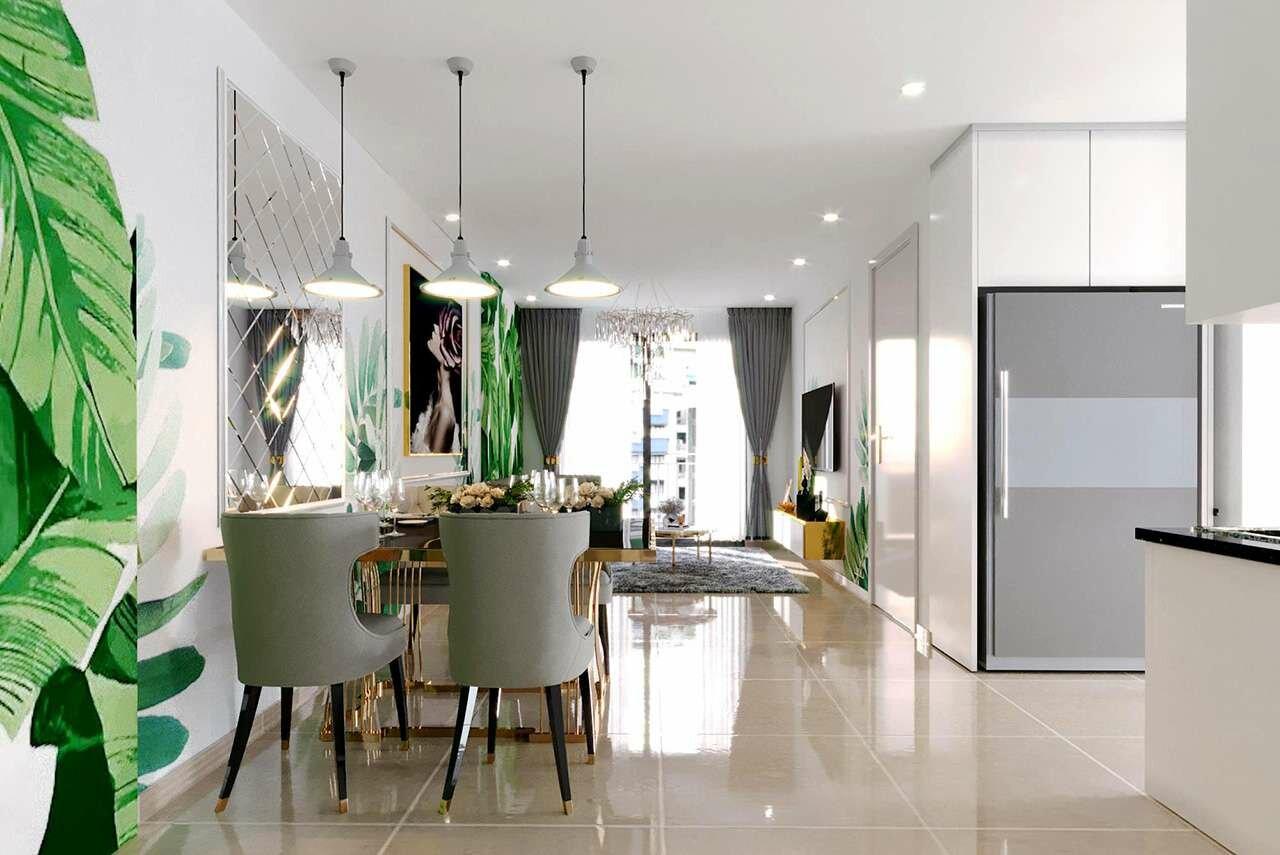 Mẫu căn hộ B - dự án Minh Quốc Plaza