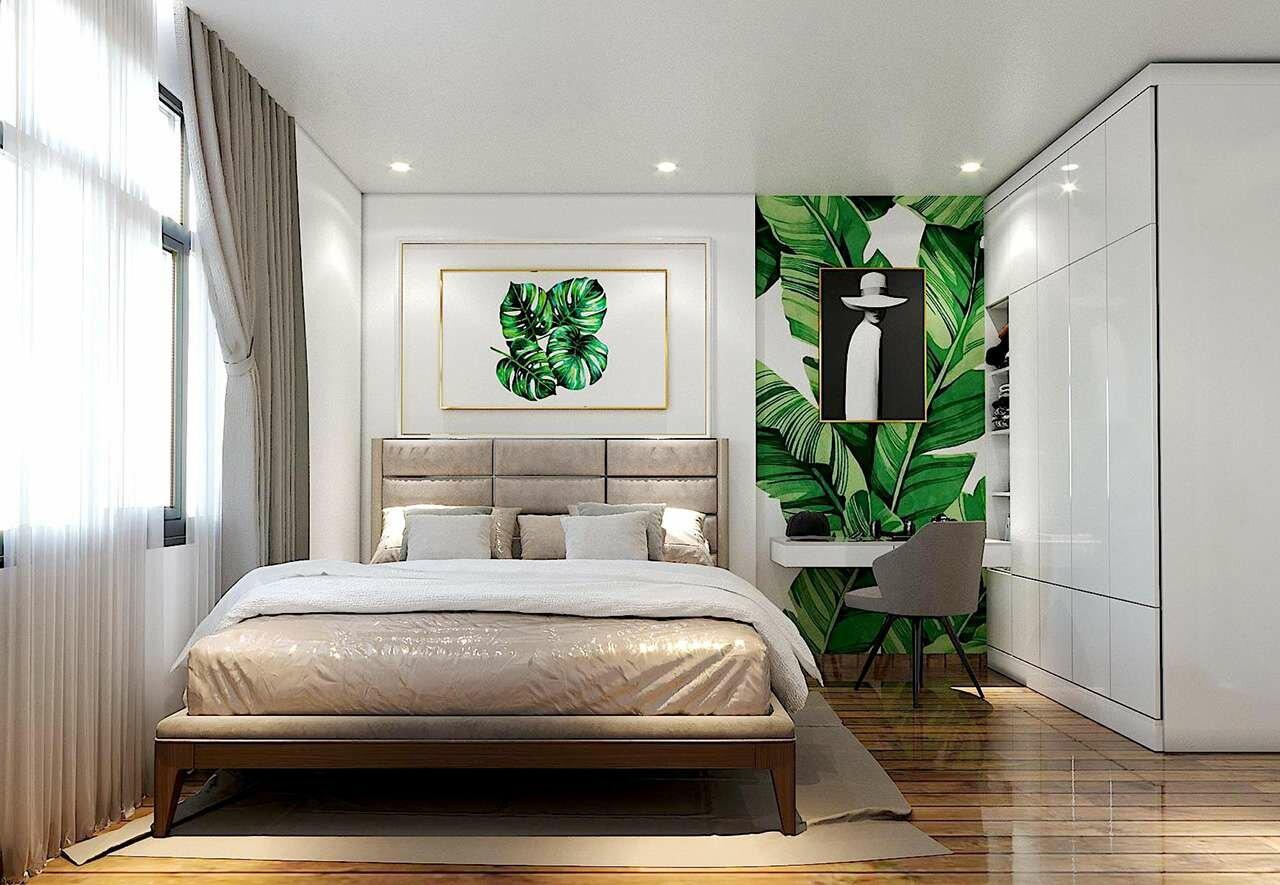 Mẫu phòng ngủ căn B - chung cư Minh Quốc Plaza