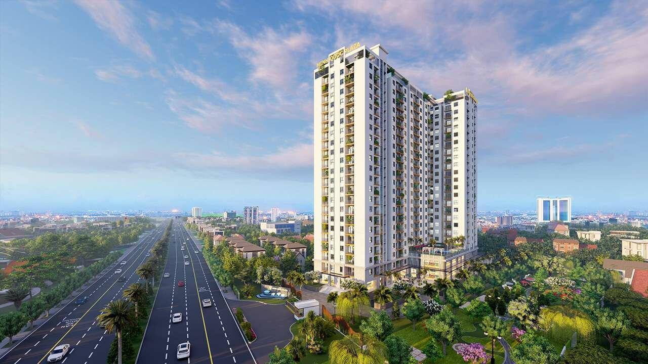 Phối cảnh căn hộ chung cư Minh Quốc Plaza