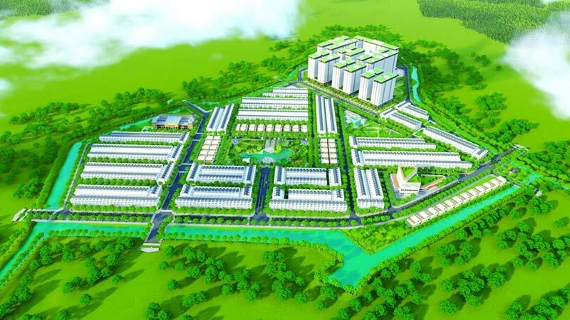 Phối cảnh dự án Qi Island Ngô Chí Quốc
