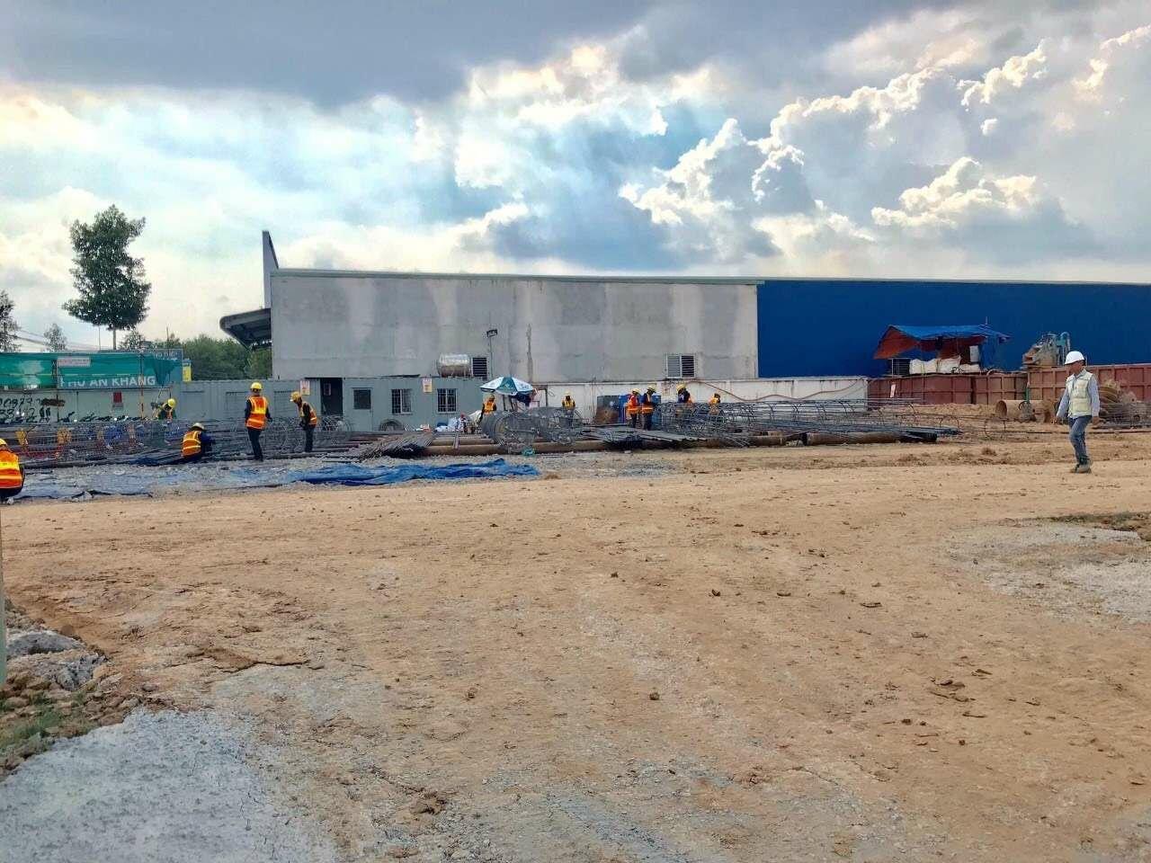 Tiến độ xây dựng dự án Minh Quốc Plaza ngày 08/05