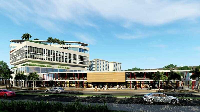 Trung tâm thương mại Qi Island Bình Dương