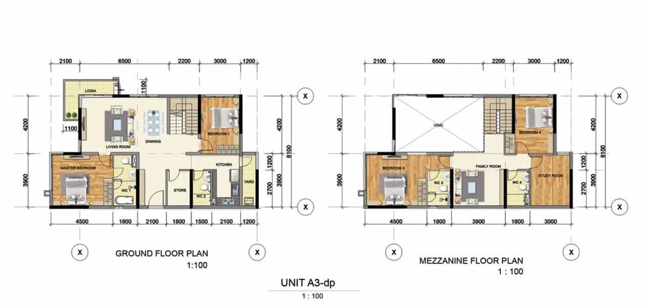 Thiết kế căn hộ mẫu A3 Bình Dương Grand View