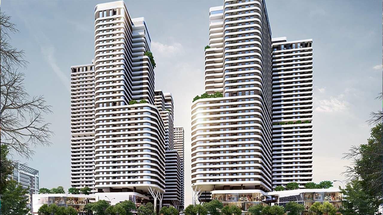 Thiết kế khối thương mại Bình Dương Astral City