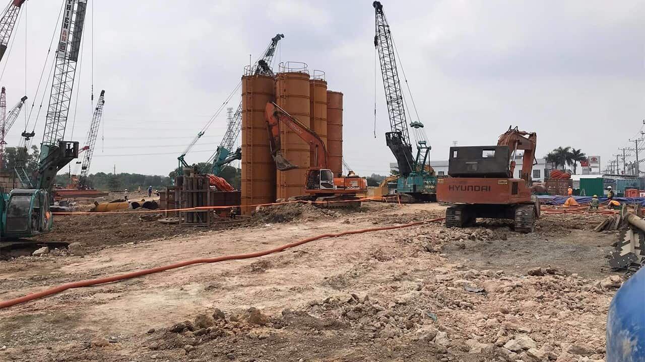 Tiến độ dự án Bình Dương Grand View 24/04/2020