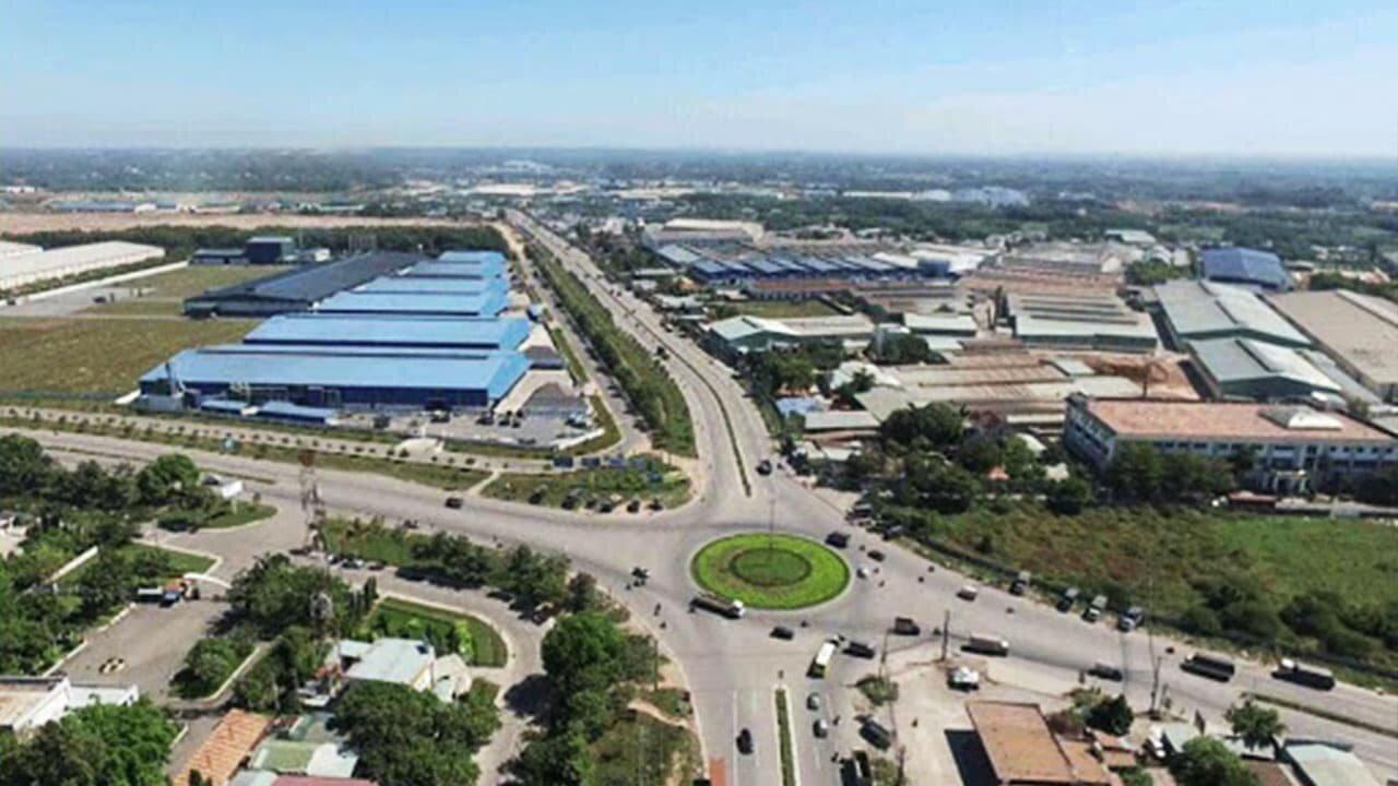 Hạ tầng giao thông tại khu công nghiệp Nam Tân Uyên