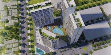 Phối cảnh dự án căn hộ Green Tower Dĩ An