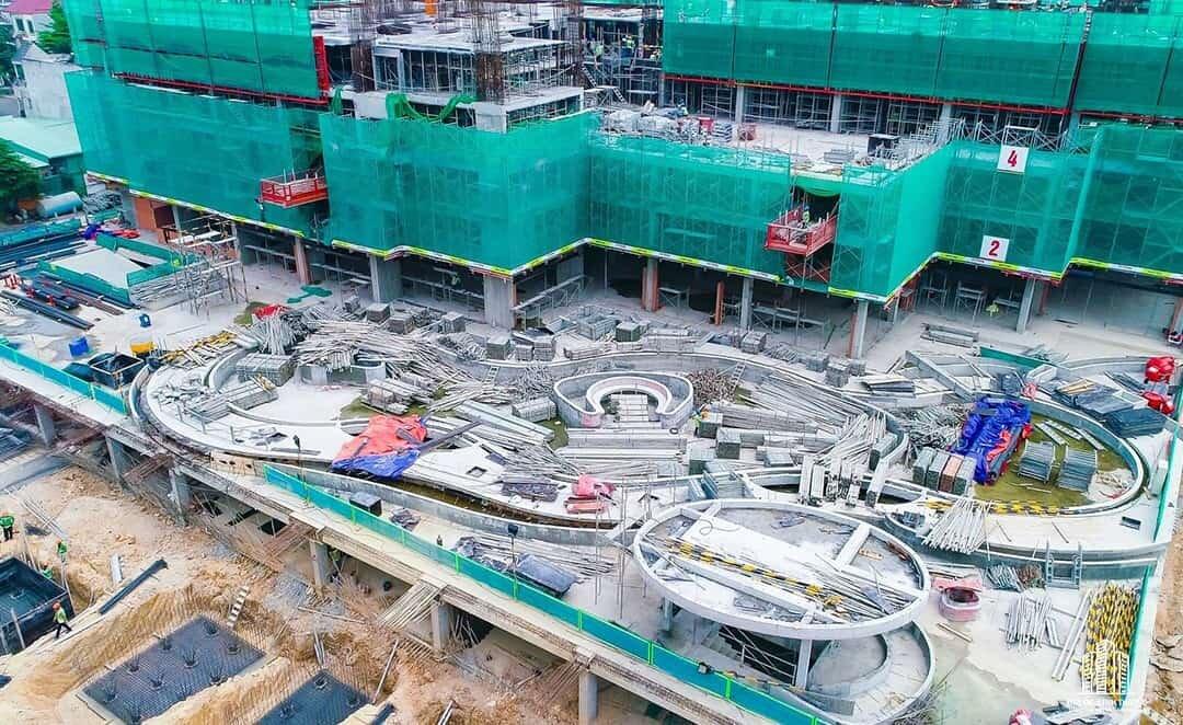 Tiến độ thi công dự án Charm City ngày 27/05/2020. Ảnh 2