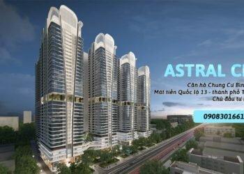 Căn hộ chung cư Astral City Bình Dương