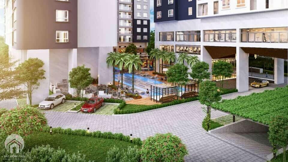 Mô hình căn hộ All in One tại C-Skyview Chánh Nghĩa