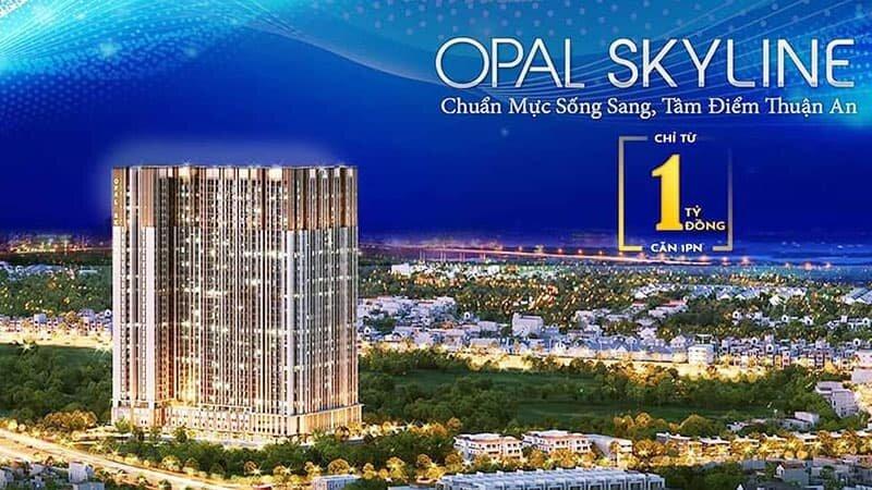 Căn hộ Opal Skyline Bình Dương 1 tỷ/1PN