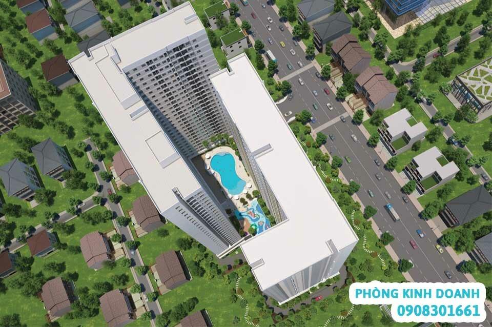Thiết kế Legacy Central nhìn từ trên cao