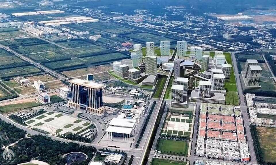 Mô phỏng dự án Trung tâm thương mại thế giới Bình Dương