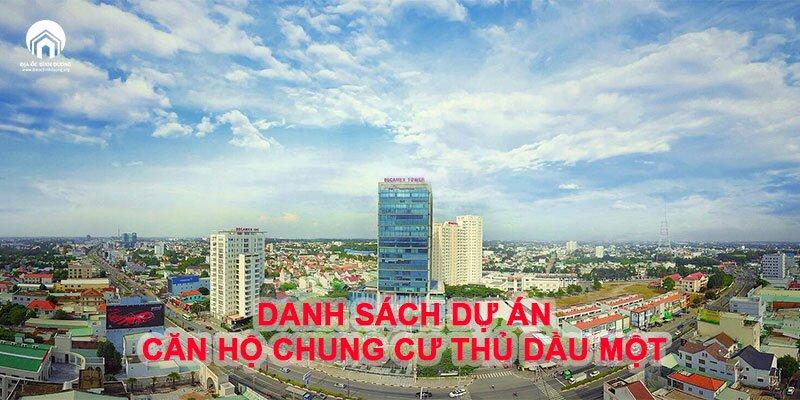 Danh sách dự án căn hộ tại Thủ Dầu Một