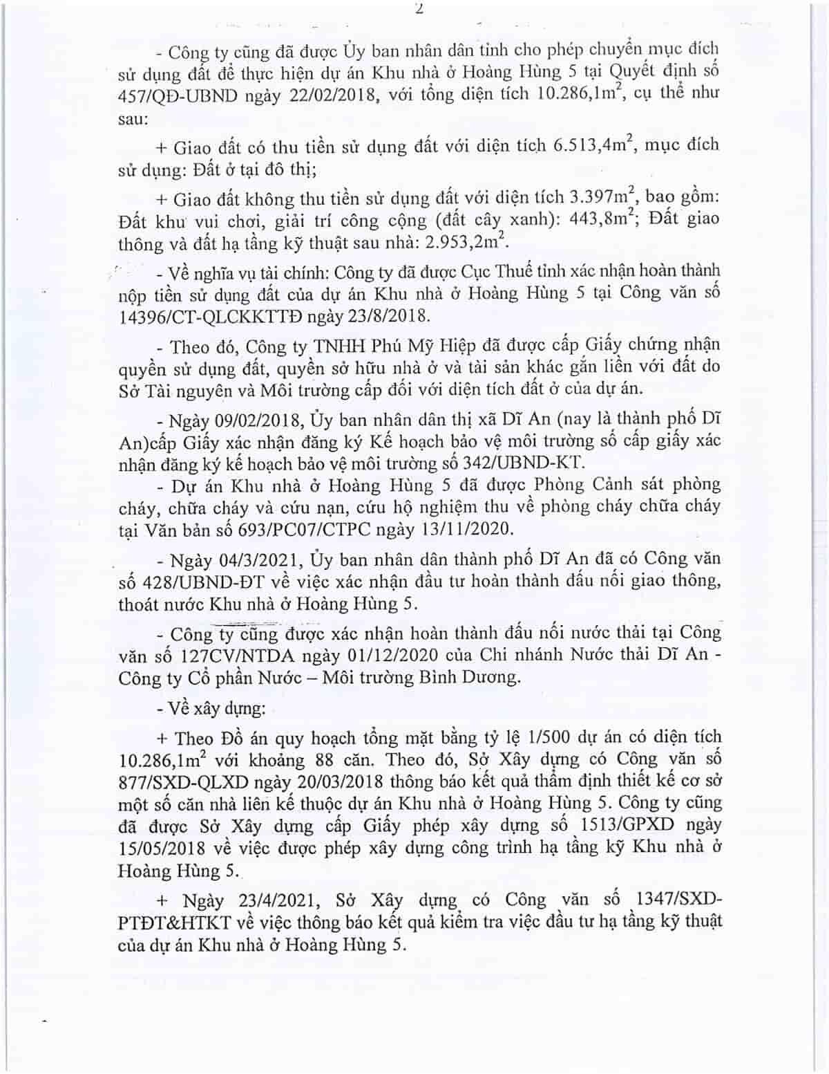 Quyết định 1780 Khu nhà ở Hoàng Hùng 5 - ảnh 2