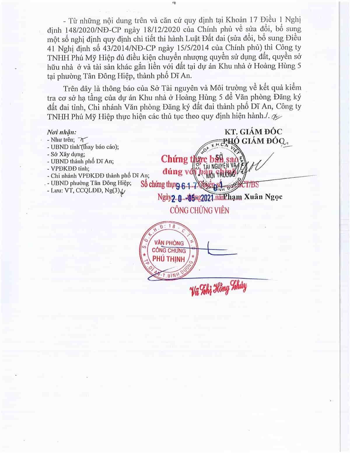 Quyết định 1780 Khu nhà ở Hoàng Hùng 5 - ảnh 4