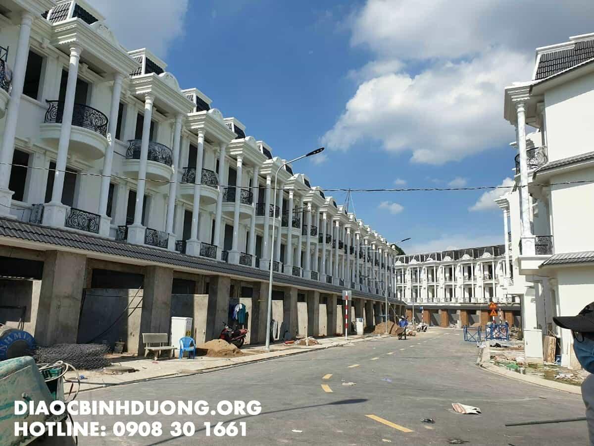 Hình ảnh thực tế dự án Royal Town Dĩ An - ảnh 1