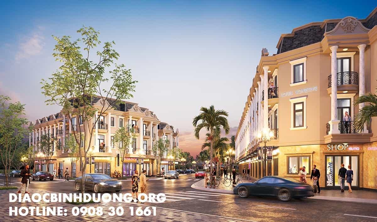 Phối cảnh dự án Royal Town Tân Đông Hiệp Dĩ An