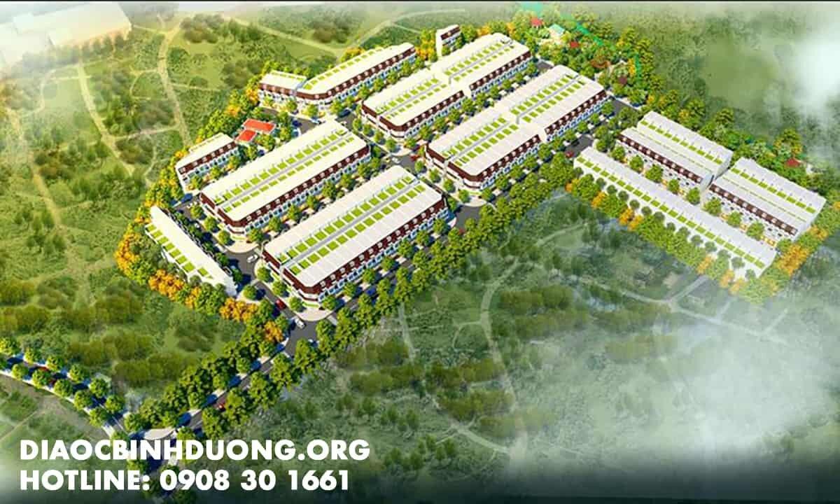 Phối cảnh khu nhà ở Dương Tiến Phát